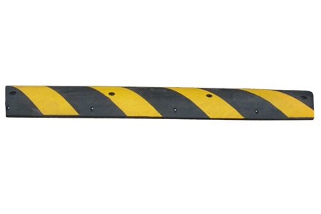 recycled rubber speed bump full - Rubber Speed Bumps
