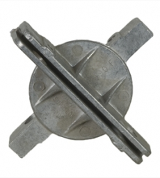 2 3/8″ Round Post Cross