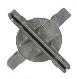 2 3/8″ Round Post Cross