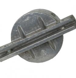 2 3/8″ Round Post Cap