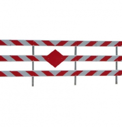 END OF ROAD BARRICADES