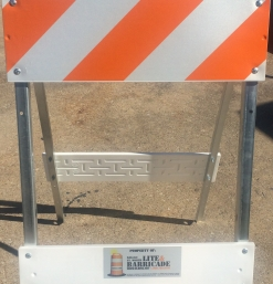 Folding Sign Stand – Large