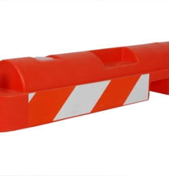 Low Profile Water Fillable Airport Barrier