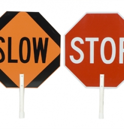 State Approved Stop / Slow Paddle
