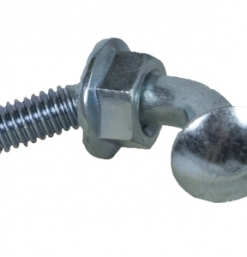 Telspar Square Tube Corner Bolts with Nuts